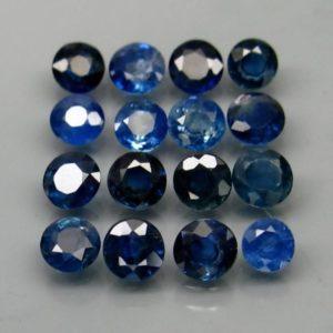виды синих сапфиров