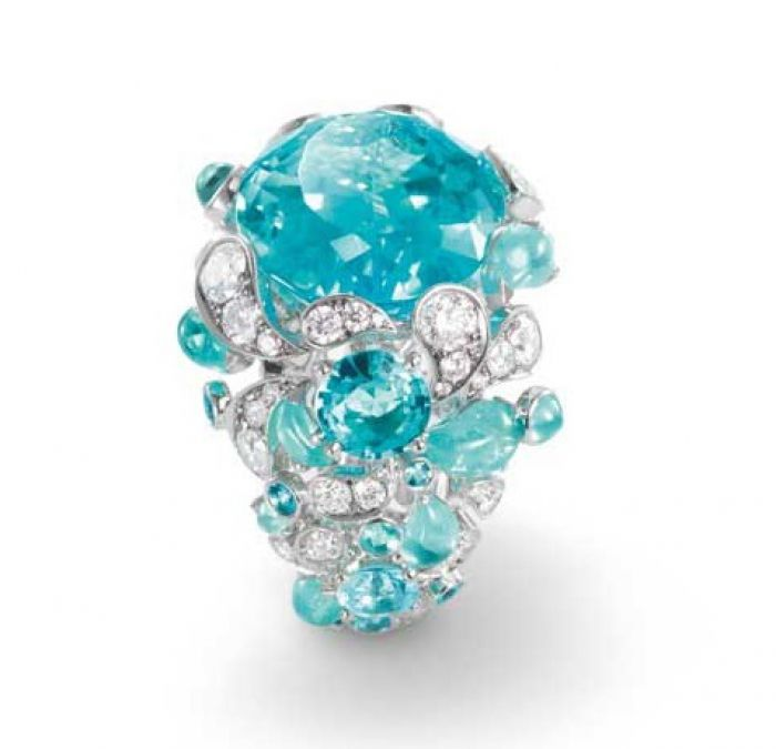 параиба с бриллиантами