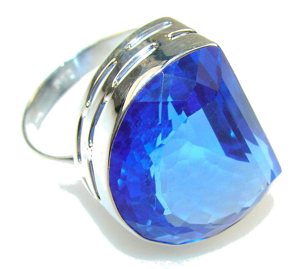 топаз синего цвета