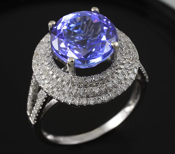 фиолетовый танзанит