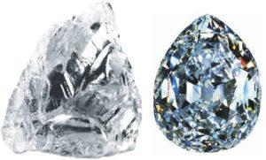 Бриллиант и алмаз — разница