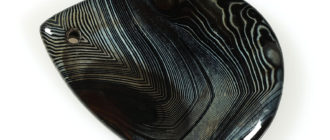 чёрный агат