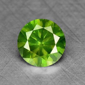 Свойства зелёного алмаза