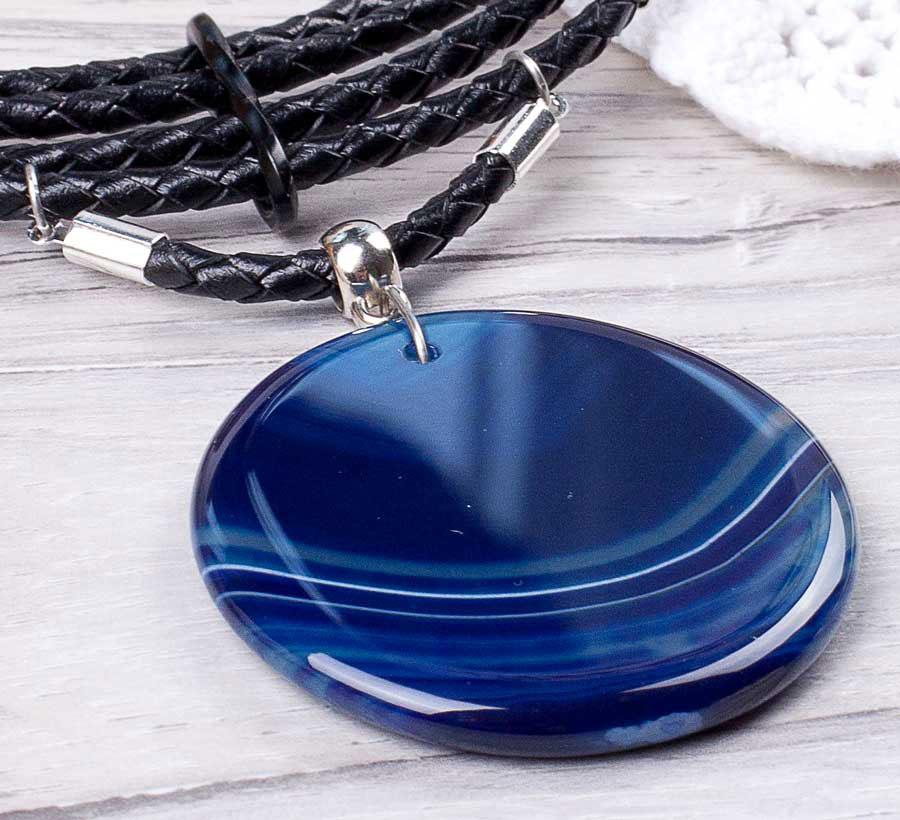 магические свойства синего агата