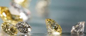 Виды алмазов