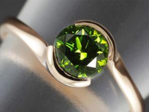 Лечебніе свойства зеленого алмаза