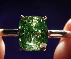 Применение зеленого алмаза