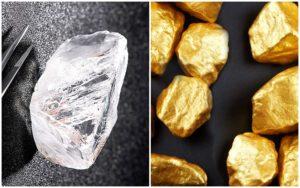 Что дороже — алмаз или золото
