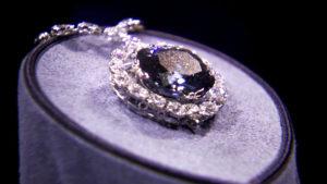Описание алмаза Хоупа — «Голубой француз»