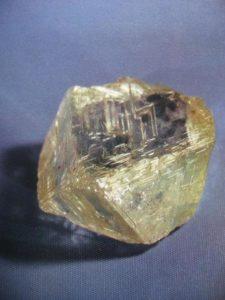 Вкрапления природного алмаза