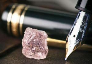 Описание розового алмаза