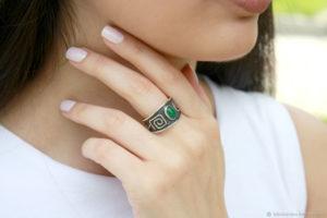Какие бывают кольца с нефритом