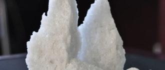 Корунд белый — необычная разновидность минерала