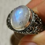 Мужские кольца с лунным камнем