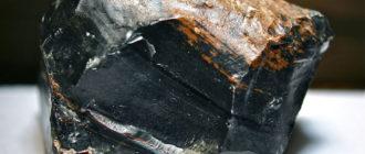 Обсидиан — как выглядит камень (фото)
