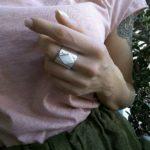 Какие бывают кольца с перламутром