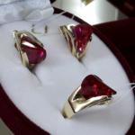 изделия с рубином