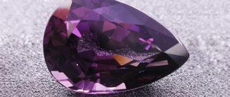 Тааффеит — уникальный природный минерал